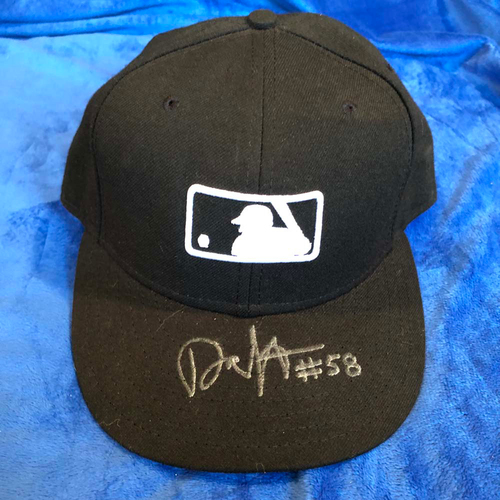 Photo of UMPS CARE AUCTION: Dan Iassogna Signed Hat, Size 7/18