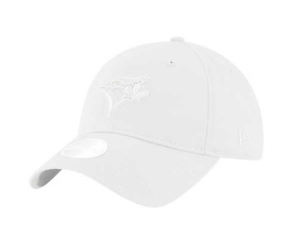 Toronto Blue Jays Women's Core Classic Optic White Adjustable Cap by New Era