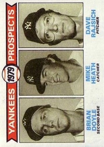 Photo of 1979 Topps #710 Brian Doyle RC/Mike Heath RC/Dave Rajsich RC