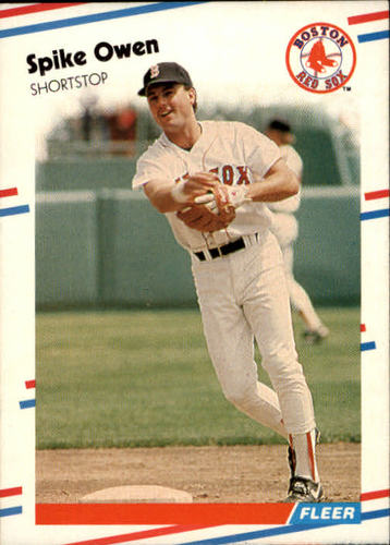 Photo of 1988 Fleer #359 Spike Owen
