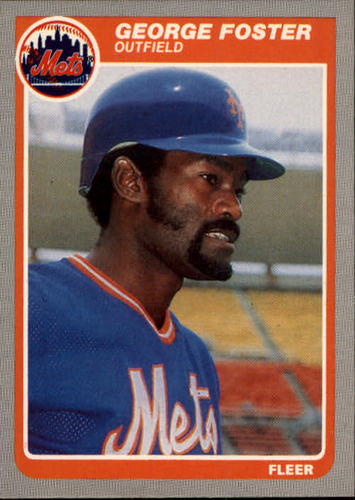 Photo of 1985 Fleer #79 George Foster