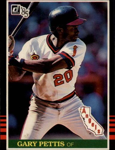 Photo of 1985 Donruss #499 Gary Pettis