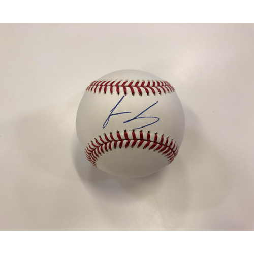 Photo of Jesus Luzardo Autographed Baseball