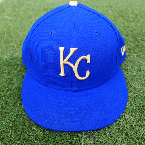 Photo of Game-Used Cap: Brett Phillips (Size 7 1/4 - MIN @ KC - 9/27/19)