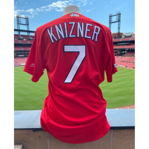 Photo of Cardinals Authentics: Team Issued Andrew Knizner Batting Practice Jersey