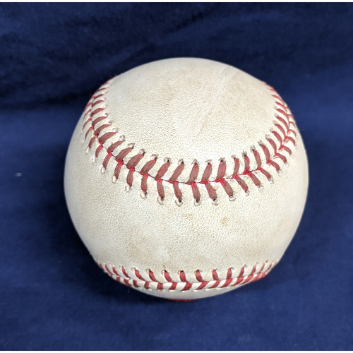 Photo of Game-Used Baseball from Kershaw's 15th win - 9/20/2019: Pitcher - Clayton Kershaw, Batter - Daniel Murphy - Foul