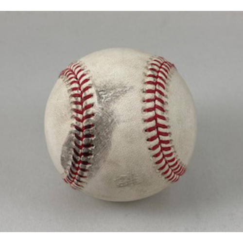 Photo of The 2020 Rookie Package - Luis Robert Game-Used Home Run baseball from 8/17/2020 White Sox vs. Tigers