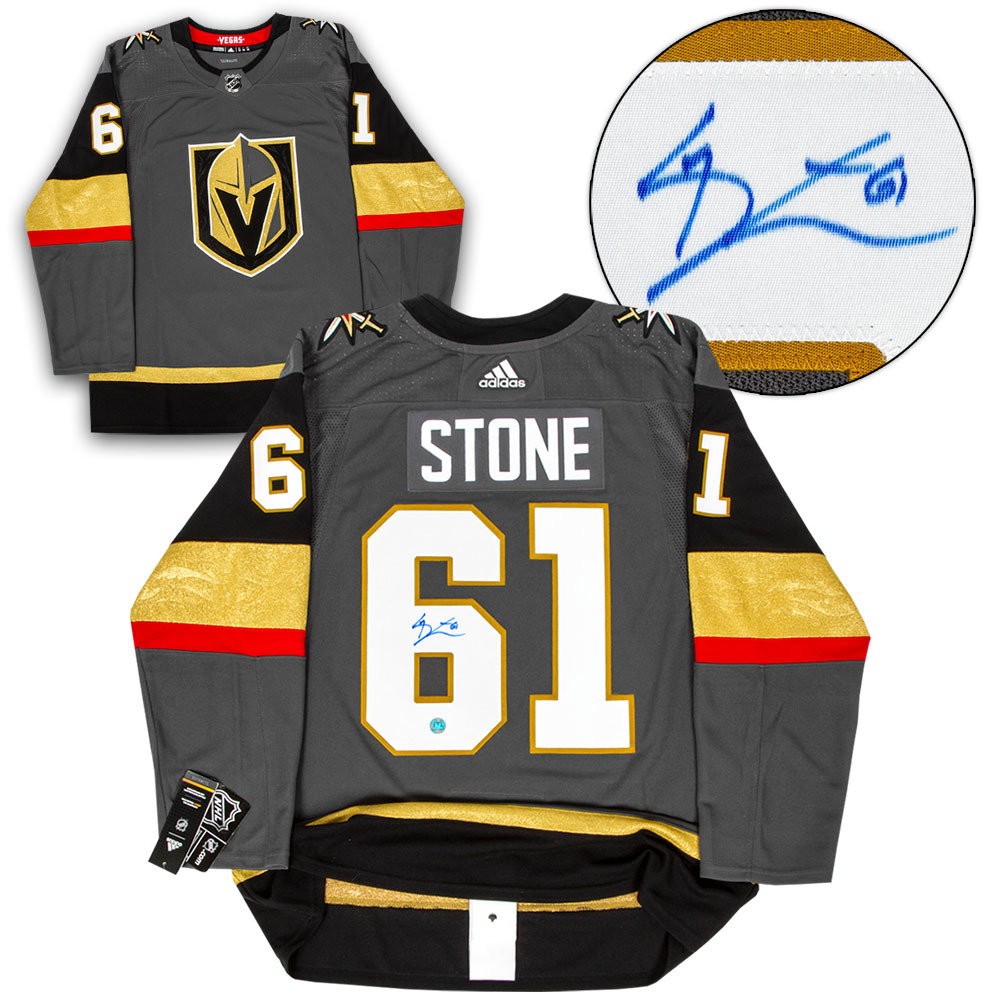 Mark Stone Vegas Golden Knights Autographed Adidas Authentic Hockey Jersey