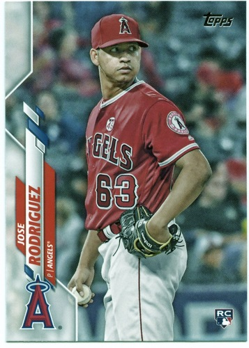 Photo of 2020 Topps #678 Jose Rodriguez RC