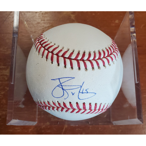 Photo of Autographed Baseball - James Paxton