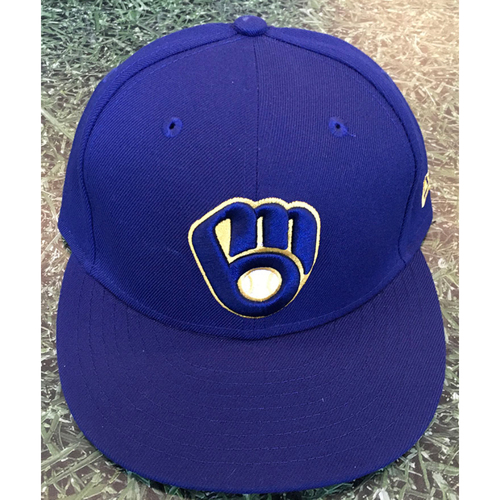 Photo of #10 2020 Team-Issued Milwaukee Brewers Cap