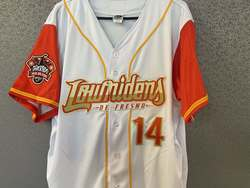 Photo of Mark Brewer Lowriders jersey