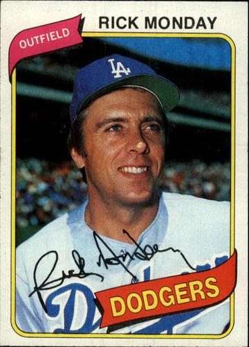 Photo of 1980 Topps #465 Rick Monday