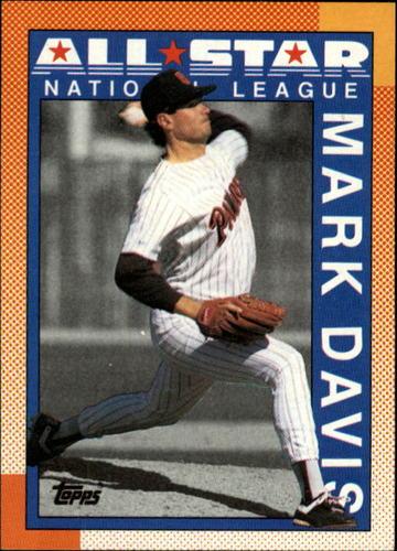 Photo of 1990 Topps #407 Mark Davis AS