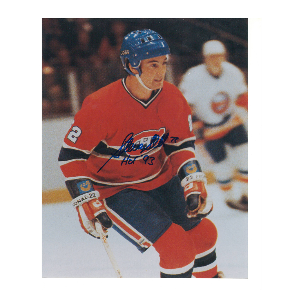 STEVE SHUTT Signed Montreal Canadiens 8 X 10 Photo - 70127