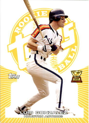 Photo of 2005 Topps Rookie Cup Yellow #78 Luis Gonzalez