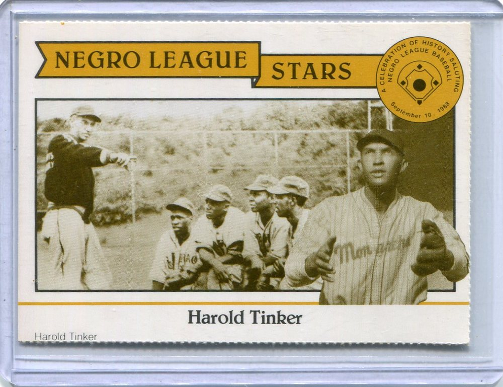 1988 Negro League Duquesne Light Co. #19 Harold Tinker