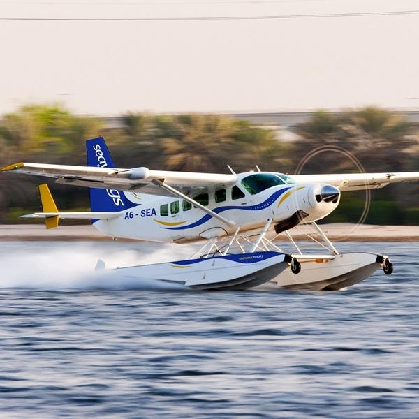 Photo of Discover Dubai on a Private Seaplane Excursion