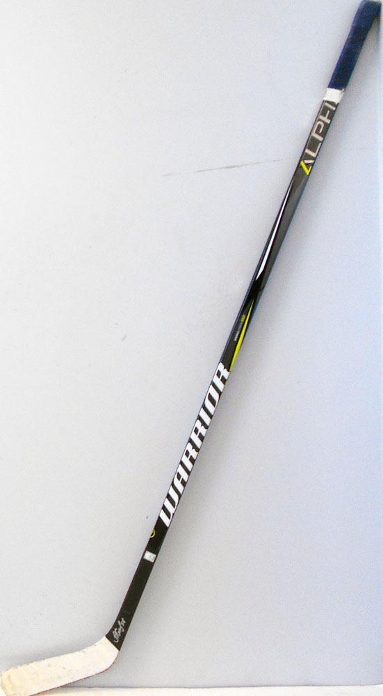 #58 AntonSlepyshev Game Used Stick - Autographed - Edmonton Oilers