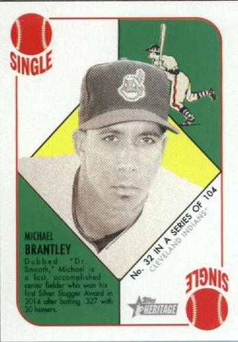 Photo of 2015 Topps Heritage '51 Collection #32 Michael Brantley