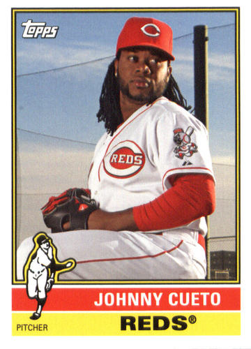Photo of 2015 Topps Archives #159 Johnny Cueto