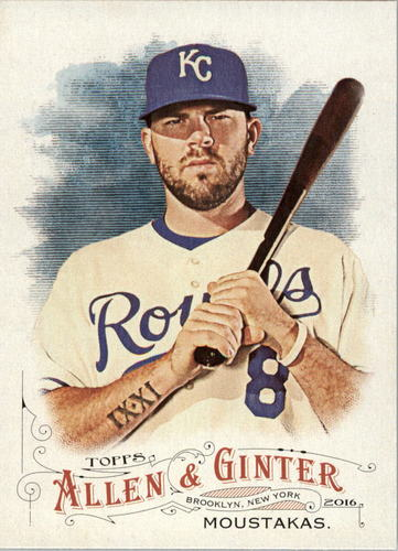 Photo of 2016 Topps Allen and Ginter #75 Mike Moustakas