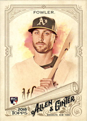 Photo of 2018 Topps Allen and Ginter #311 Dustin Fowler SP RC