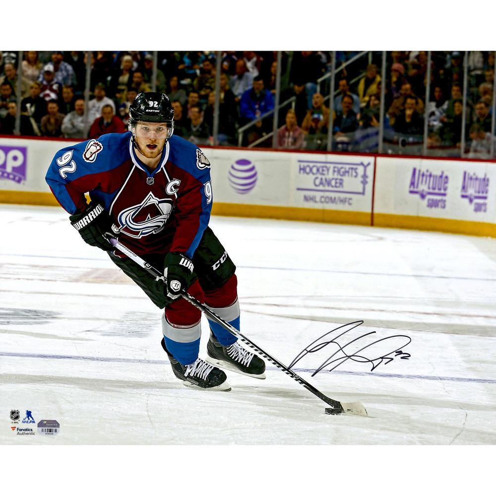 Gabriel Landeskog Colorado Avalanche Autographed 16