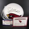 PCC - Cardinals David Johnson Signed Proline Helmet