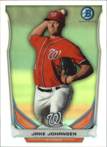 Photo of 2014 Bowman Chrome Bowman Scout Top 5 Mini Refractors #BMWN5 Jake Johansen
