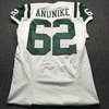 Jets - Anunike Team Issued Away Jersey Size 42
