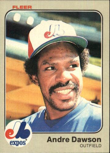Photo of 1983 Fleer #280 Andre Dawson