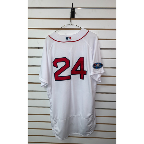 Photo of David Price Team Issued 2018 Postseason Home Jersey