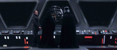 Darth Sidious, Darth Vader and Grand Moff Tarkin