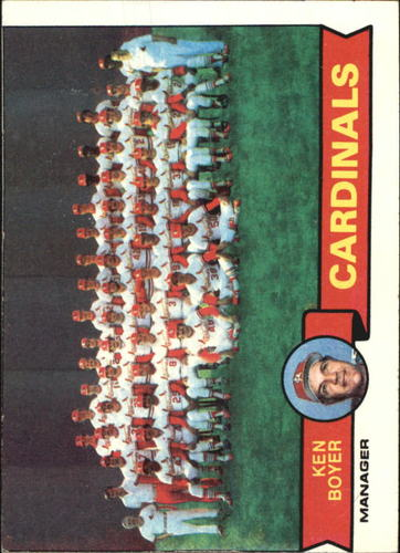 Photo of 1979 Topps #192 St. Louis Cardinals CL/Ken Boyer MG