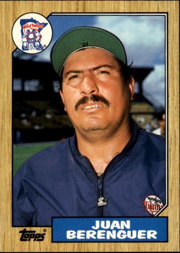 Photo of 1987 Topps Traded #5T Juan Berenguer