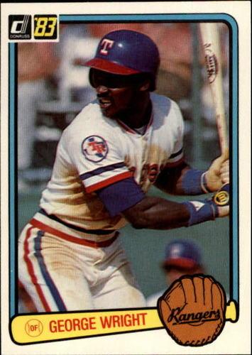 Photo of 1983 Donruss #116 George Wright RC