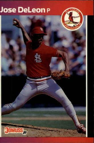 Photo of 1989 Donruss #437 Jose DeLeon