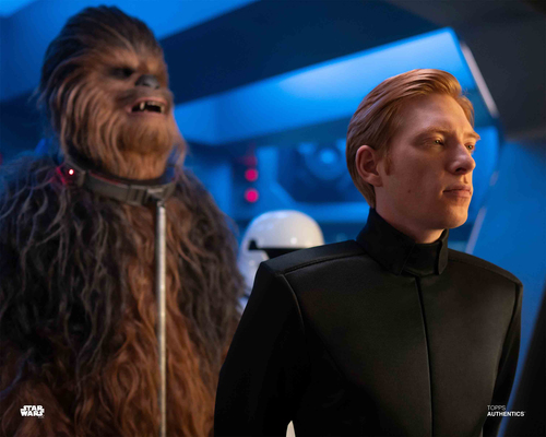 General Hux and Chewbacca