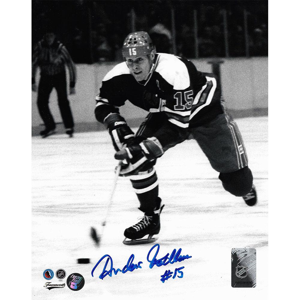 Anders Hedberg Autographed Winnipeg Jets 8X10 Photo