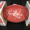 NFL - Panthers Brian Burns Signed Authentic Football with 2019 NFL Draft Logo