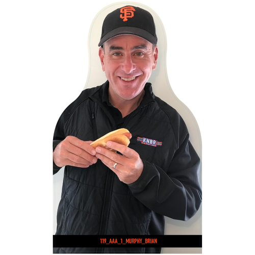 Photo of Giants Community Fund: Giants Brian Murphy Cutout (Not MLB Authenticated, COA Included)
