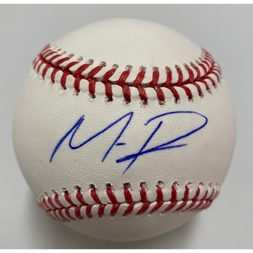 Photo of #1 Mauricio Dubon Autographed Baseball