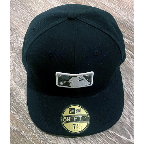 Photo of UMPS CARE AUCTION: Official Specialty MLB Camo Logo Umpire Plate Cap, Size 7 1/4
