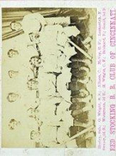 Photo of 1869 Red Stockings Peck and Snyder #1 Red Stockings Team