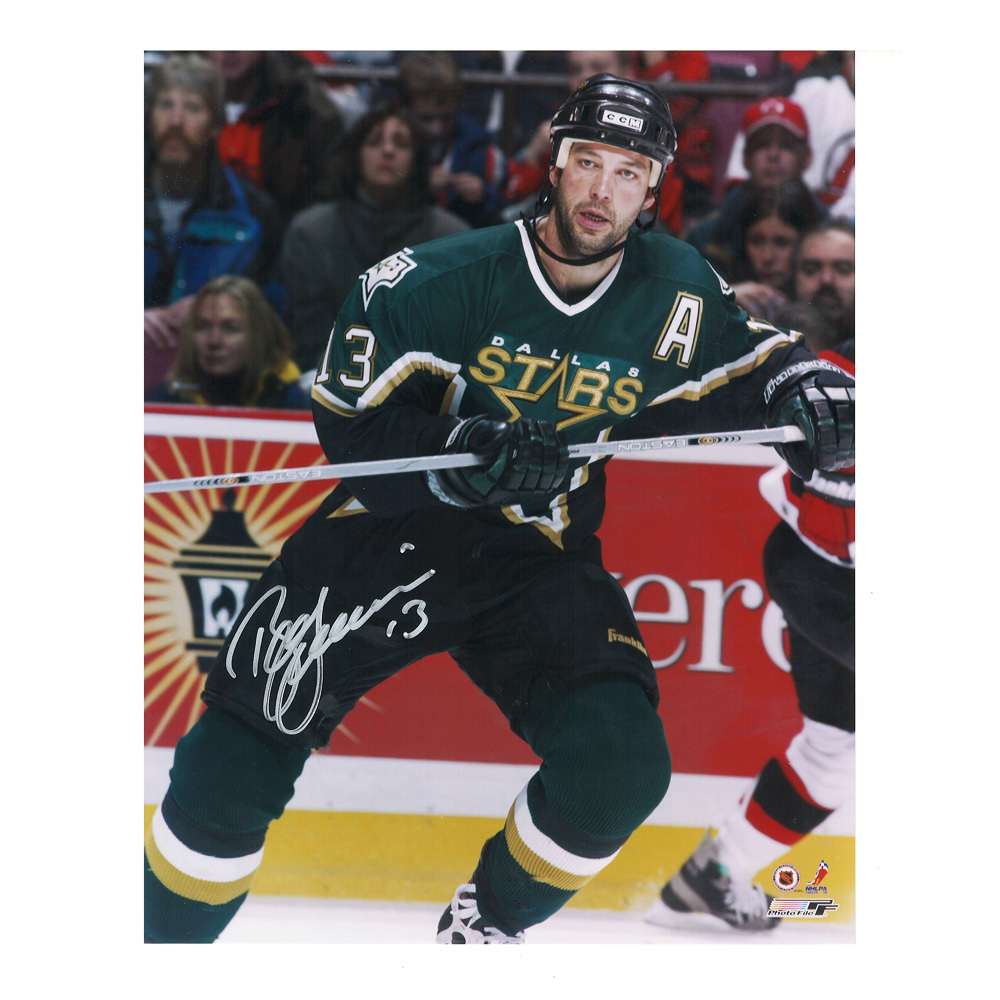 BILL GUERIN Signed Dallas Stars 8 X 10 Photo - 70128