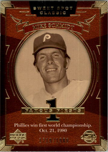 Photo of 2004 Sweet Spot Classic #133 Mike Schmidt FF/1980