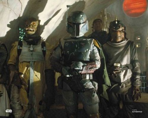 Bossk and Boba Fett with Nikto Guard