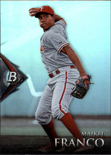 Photo of 2014 Bowman Platinum Prospects #BPP68 Maikel Franco Pre-rookie Card