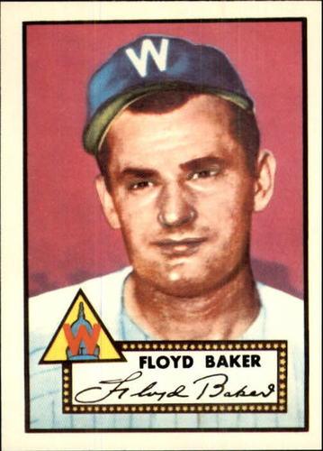 Photo of 1983 Topps 1952 Reprint #292 Floyd Baker
